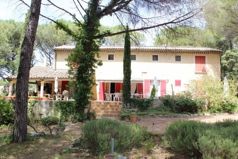 Deluxe sale house / villa St laurent des arbres 581000€ - Picture 1