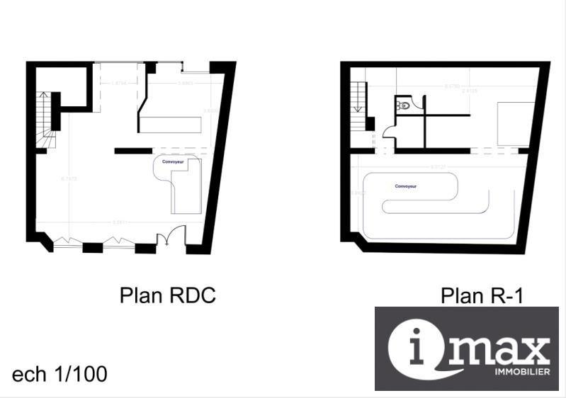 Rental empty room/storage Paris 20ème 2068€ HT/HC - Picture 1