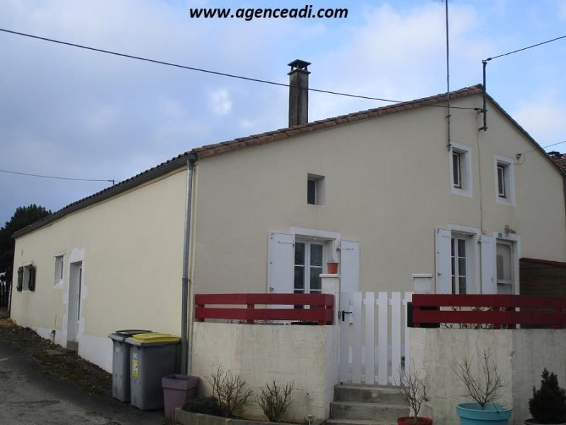 Vente maison / villa Exireuil 84 000€ - Photo 1
