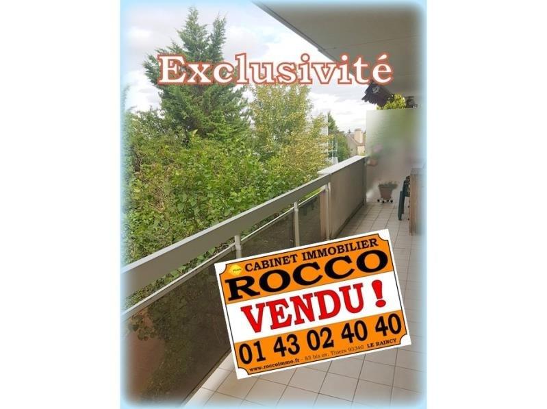 Sale apartment Le raincy 303000€ - Picture 1