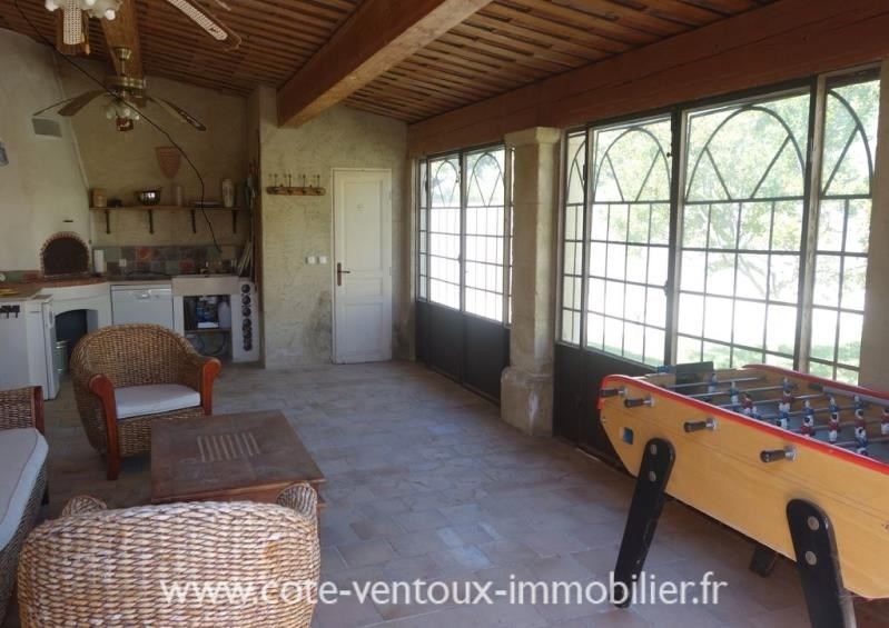 Vente maison / villa Aubignan 480 000€ - Photo 9