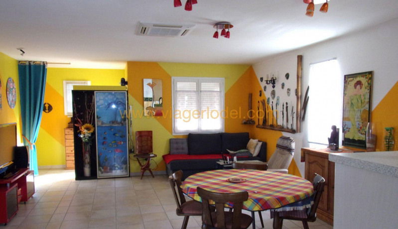 Lijfrente  huis Bizanet 60000€ - Foto 1
