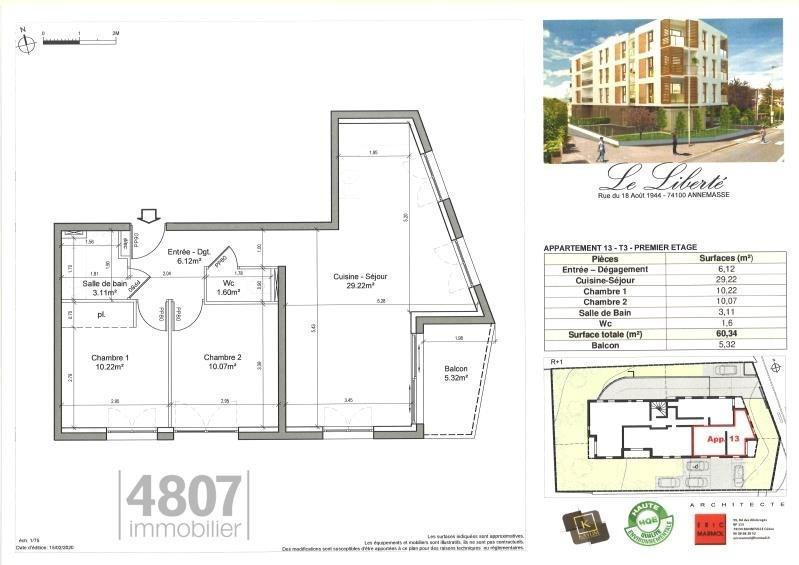 Produit d'investissement appartement Annemasse 250000€ - Photo 2