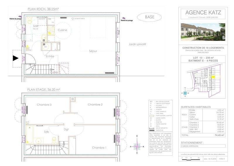 Vente maison / villa Beynes 250000€ - Photo 5