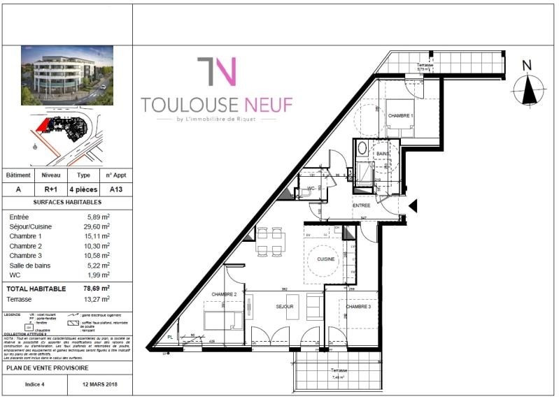 Vente appartement Tournefeuille 283 000€ - Photo 5
