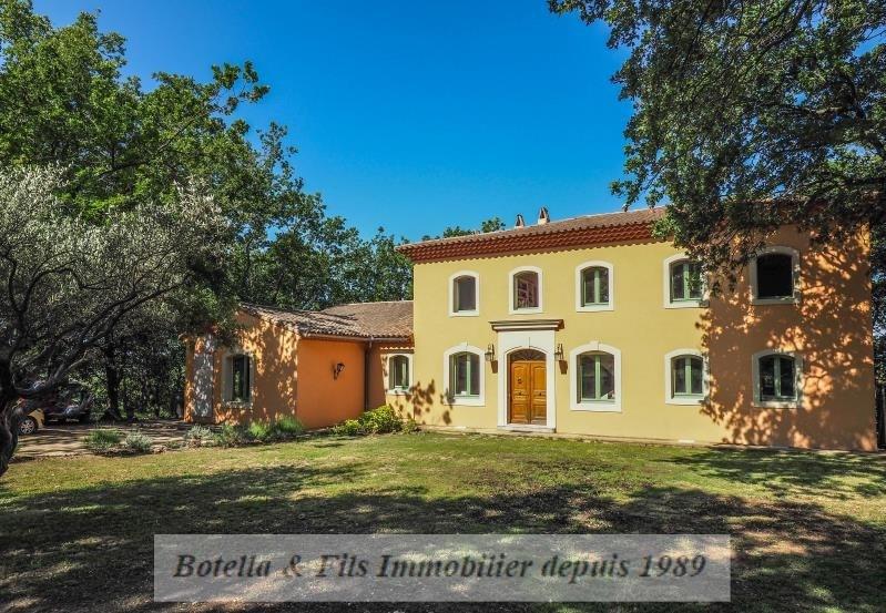 Verkoop van prestige  huis Uzes 1195000€ - Foto 1