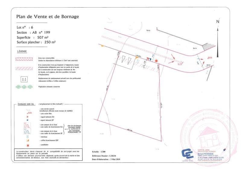 Vente terrain La chapelle palluau 36955€ - Photo 1