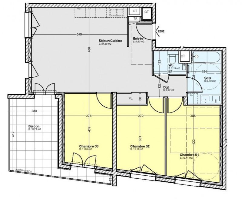 Revenda apartamento Gières 295000€ - Fotografia 2
