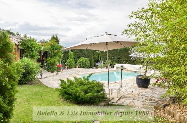Immobile residenziali di prestigio casa Barjac 446000€ - Fotografia 4