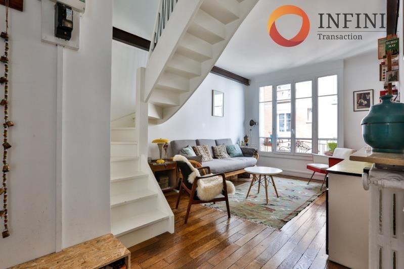 Vente appartement Paris 20ème 579000€ - Photo 2