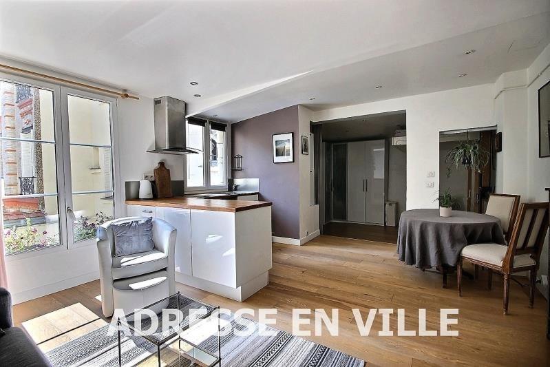 Verkoop  appartement Levallois-perret 355000€ - Foto 4