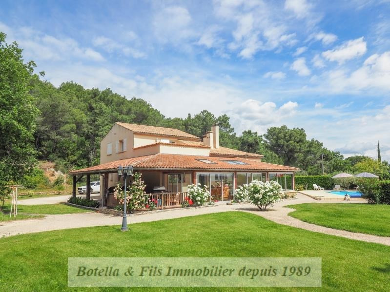 Verkoop van prestige  huis Tresques 595000€ - Foto 1