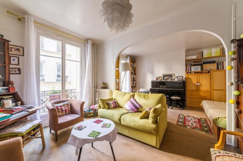 Verkoop  appartement Paris 13ème 385000€ - Foto 2