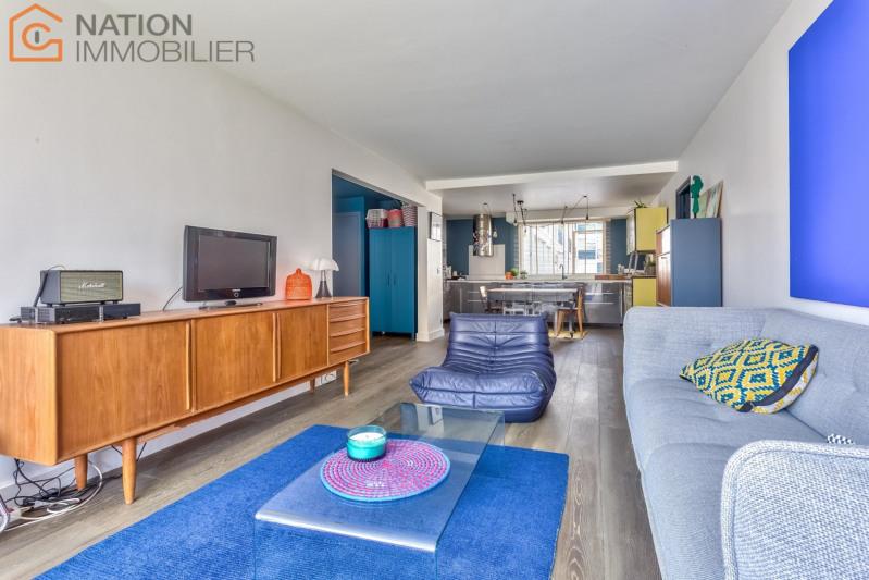 Vente de prestige appartement Paris 20ème 1039000€ - Photo 2
