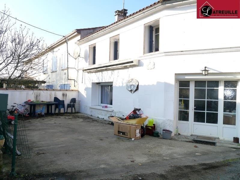 Sale house / villa Pons 117700€ - Picture 1