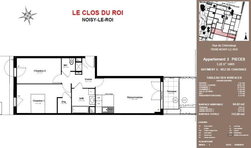 Vente appartement Noisy le roi 322 400€ - Photo 2