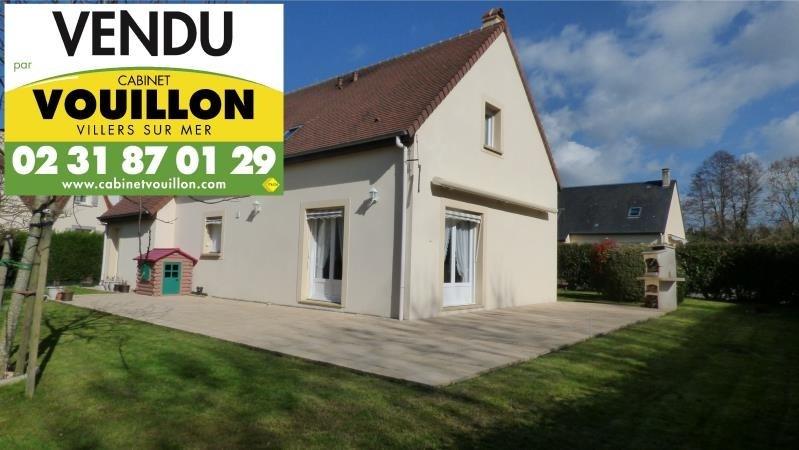 Revenda casa Villers sur mer 415500€ - Fotografia 1