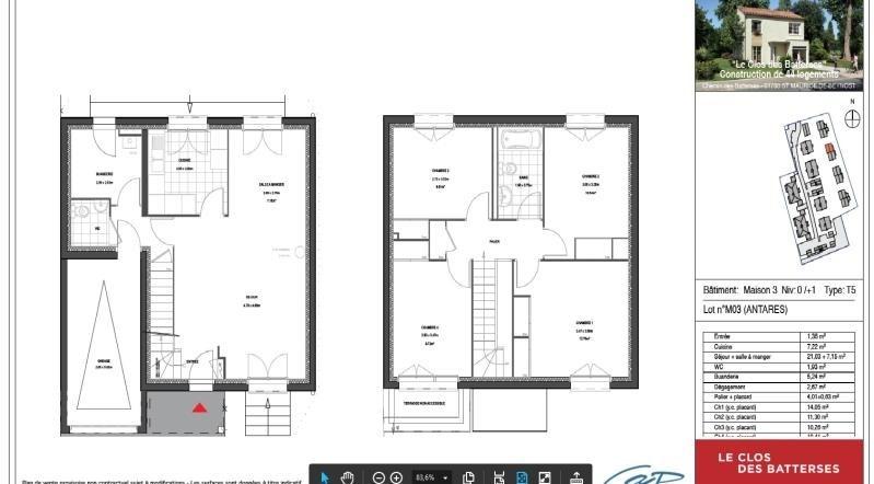 Location maison / villa St maurice de beynost 926€ +CH - Photo 1