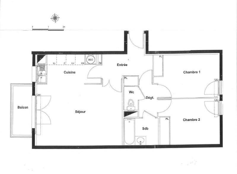 Alquiler  apartamento La plaine st denis 1135€ CC - Fotografía 7
