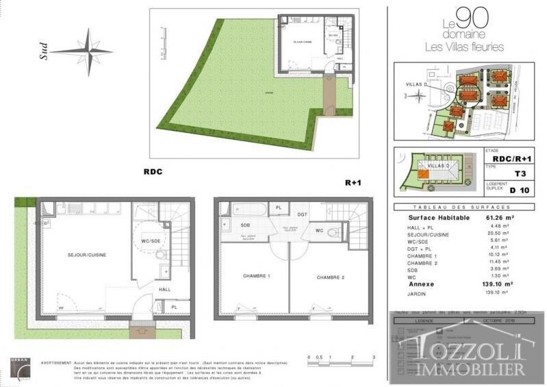 Sale house / villa Villefontaine 194000€ - Picture 1
