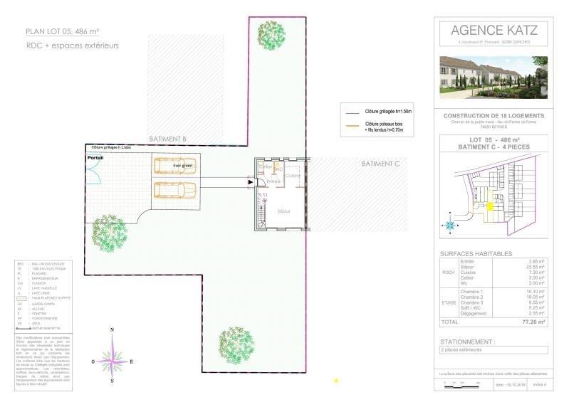 Vente maison / villa Beynes 285000€ - Photo 4