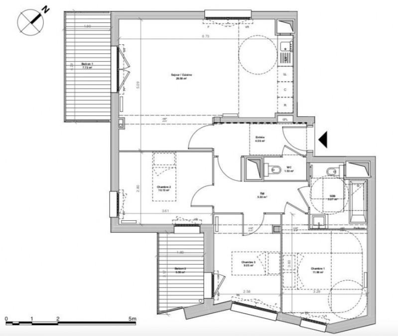 Vente appartement Bry-sur-marne 415000€ - Photo 6