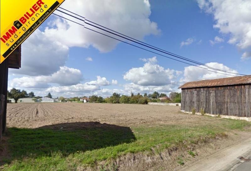 Venta  terreno Langon 52114€ - Fotografía 1