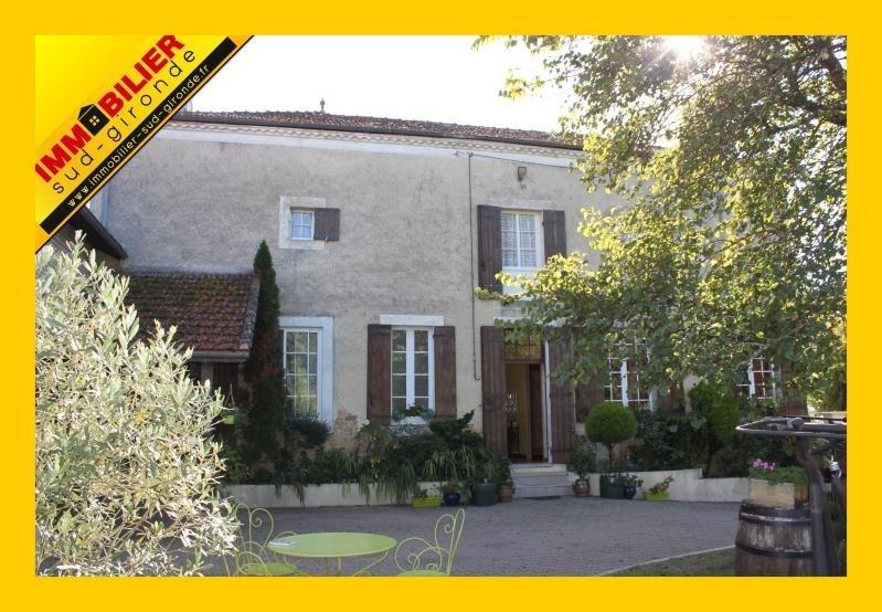 Verkoop  huis Langon 306600€ - Foto 1