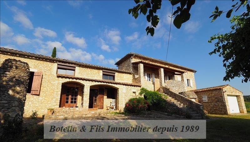 Verkoop  huis Goudargues 460000€ - Foto 1