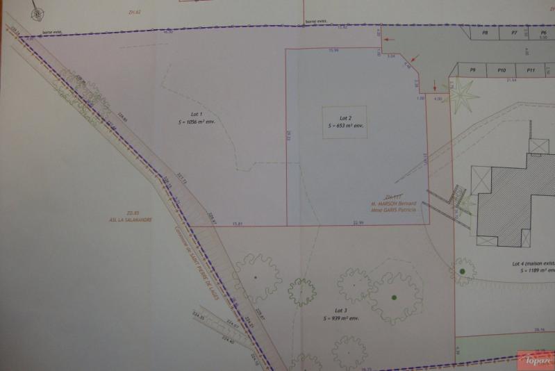 Vente terrain Lanta 115000€ - Photo 2