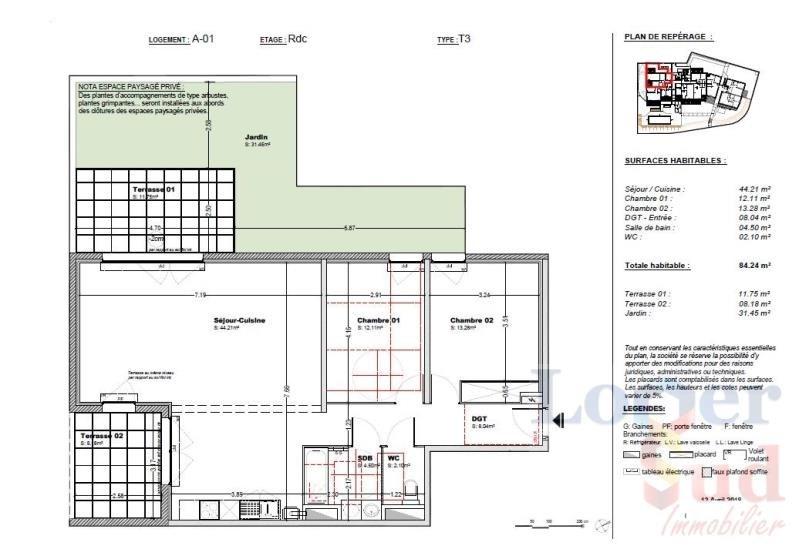 Sale apartment Prades le lez 295815€ - Picture 3