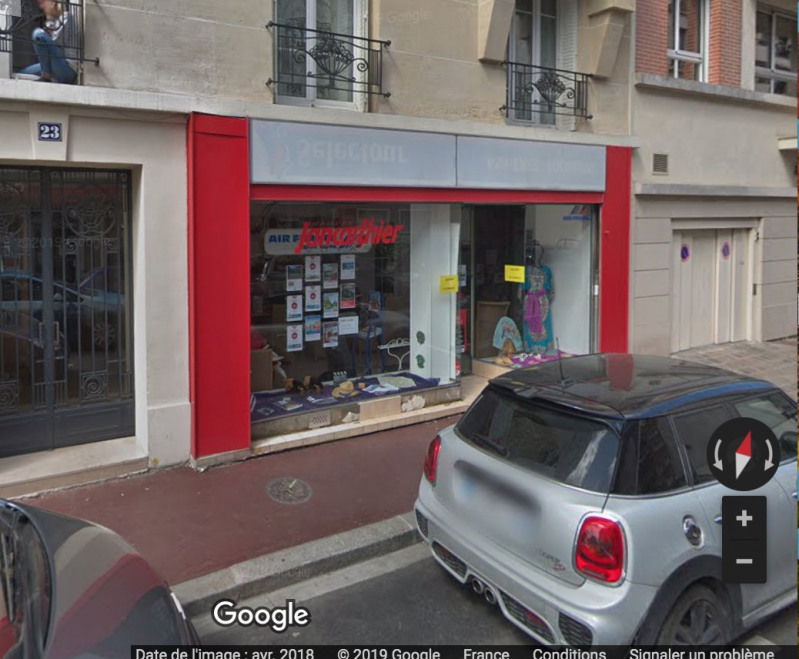 Boutique rue baps/asnières