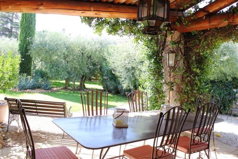 Vente maison / villa Rochefort du gard 530000€ - Photo 3