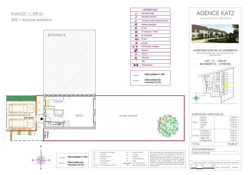 Vente maison / villa Beynes 254000€ - Photo 5