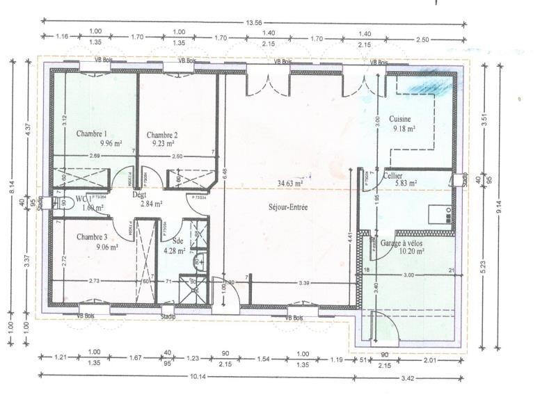 Vente maison / villa Vendays montalivet 275000€ - Photo 10