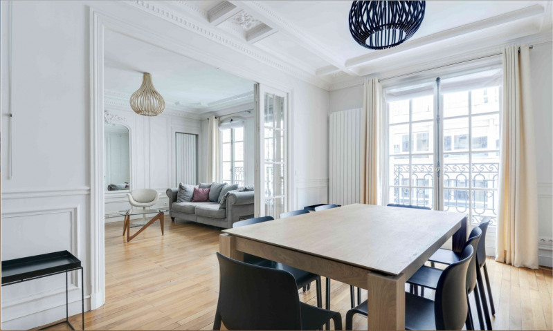 Rental apartment Paris 17ème 4 200€ CC - Picture 2