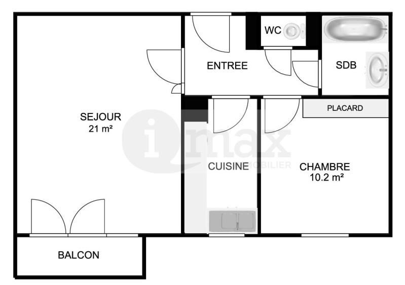 Sale apartment Courbevoie 360000€ - Picture 4