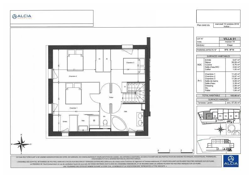 Sale house / villa Merignac 538000€ - Picture 3