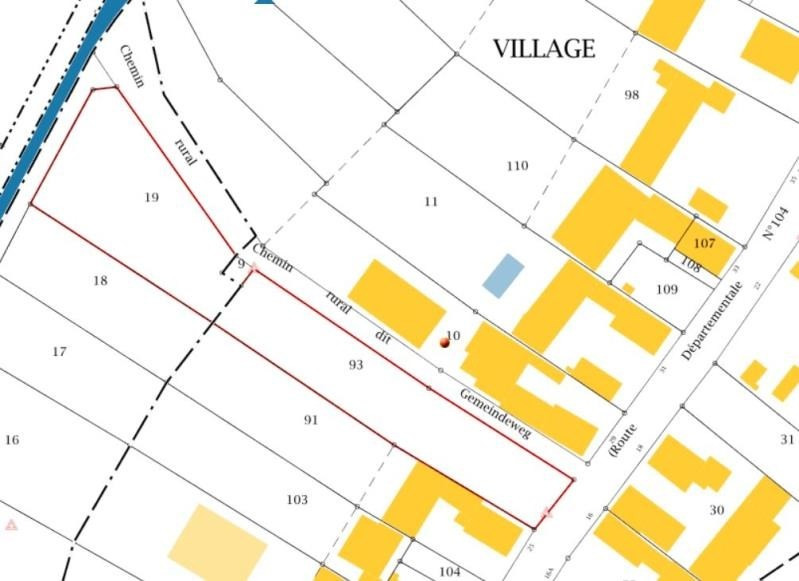 Verkauf grundstück Wissembourg 49000€ - Fotografie 3