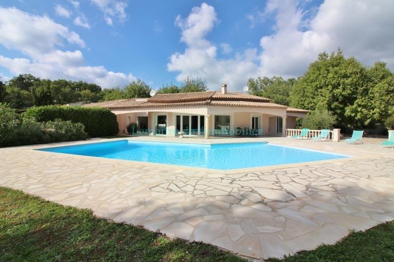 Vente de prestige maison / villa Saint cezaire sur siagne 598000€ - Photo 1