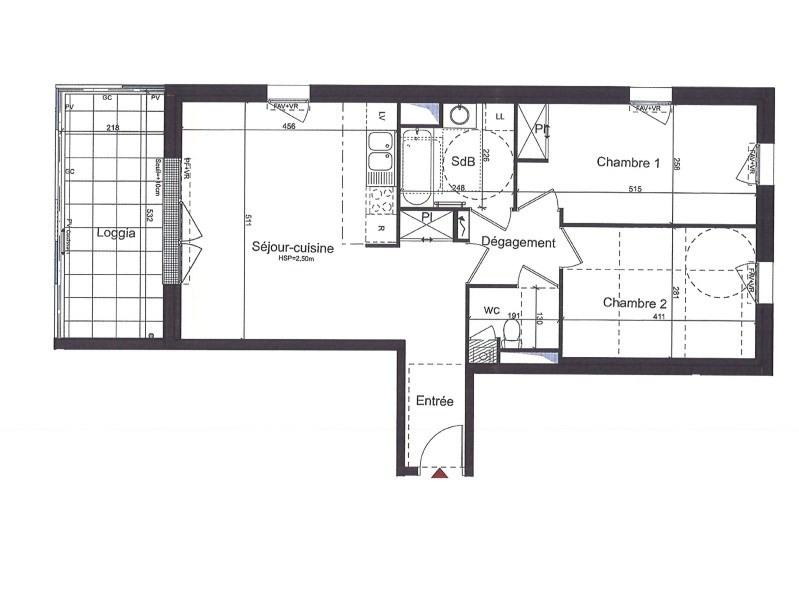 Location appartement Saint-herblain 750€ CC - Photo 3