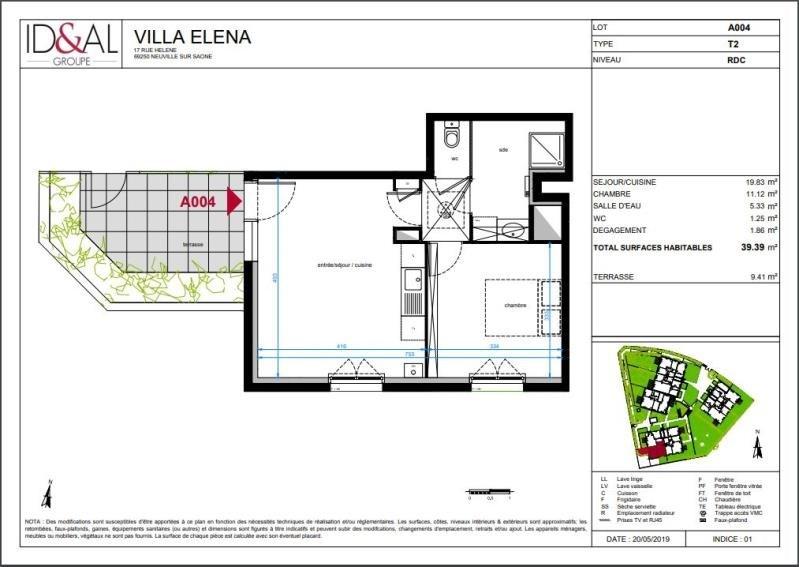 Investimento apartamento Neuville sur saone 182000€ - Fotografia 3