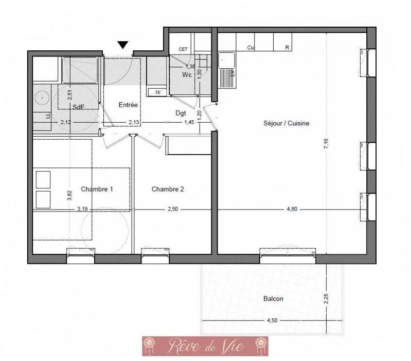 Sale apartment Le lavandou 319000€ - Picture 2