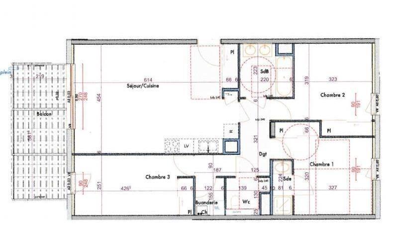 Vente appartement Bonneville 261000€ - Photo 2
