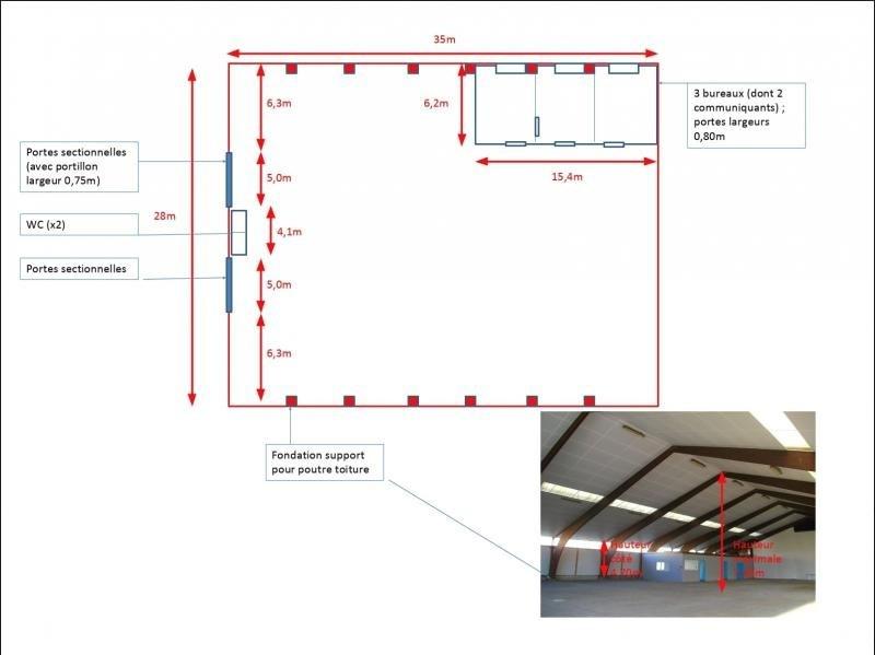 Rental empty room/storage Fegersheim 3350€ HT/HC - Picture 9