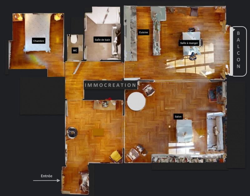 Vente de prestige appartement Lyon 6ème 580000€ - Photo 9