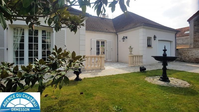 Vente maison / villa La queue en brie 520000€ - Photo 1