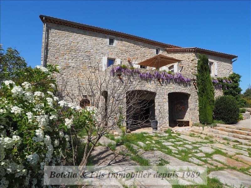 Verkoop van prestige  huis Les vans 599000€ - Foto 2
