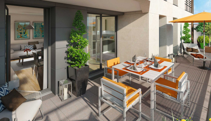 Vente appartement Joinville le pont 551000€ - Photo 1
