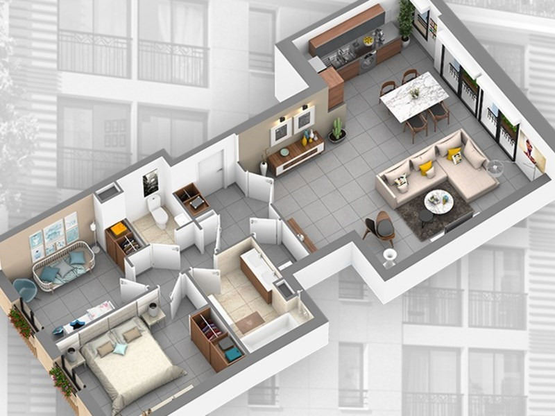 Verkoop  flatgebouwen Aix en provence 590000€ - Foto 2